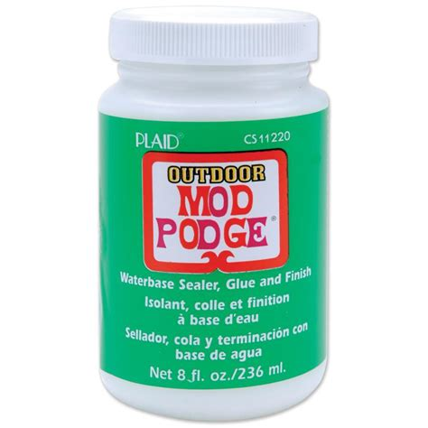Decoupage Glue Australia - mod podge outdoor gloss 236ml
