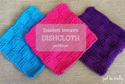 knitted basket weave dishcloth pattern basket weave knit dishcloth pattern craftbnb