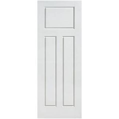 Craftsman 3 Panel Interior Door by Masonite Glenview Smooth 3 Panel Craftsman Hollow