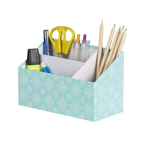 matching desk accessory set otto desk accessory set aqua 4 pack officeworks
