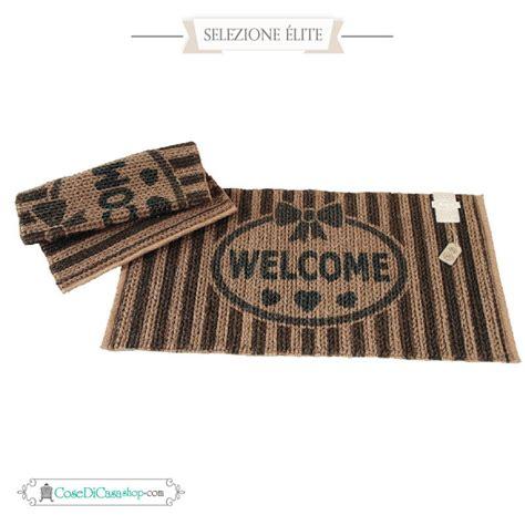 tappeto ingresso tappeto da ingresso con misure cm 50x95 e scritta welcome