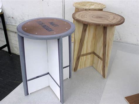 Flattened Stools by Seeing Design Interior Design Ideas Part 10