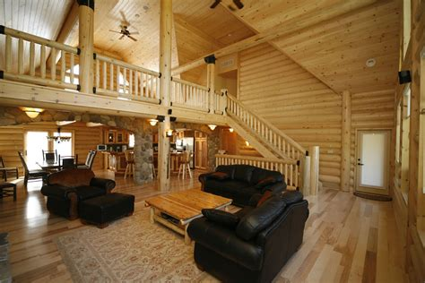 ab home interiors whisper creek log homes oke woodsmith building systems inc