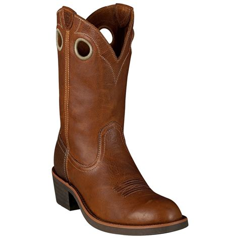 s ariat 174 11 quot trail boots brown 153831 cowboy