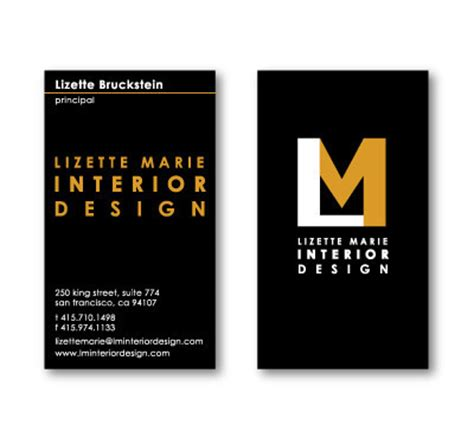 how to start an interior design business lm interior design logo website email on behance