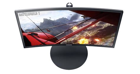 Monitor Samsung 24 Inch Curve Gaming C24fg70 1 samsung unveils curved 24 quot monitor with 144hz freesync flatpanelshd
