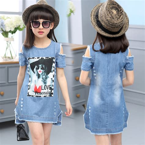 Fr Dress Giovany Kid Dress Anak buy children dresses for denim dress summer strapless dress pattern clothing