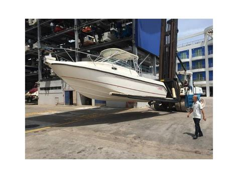 second hand boats for sale singapore boston whaler conquest 275 in singapore day fishing