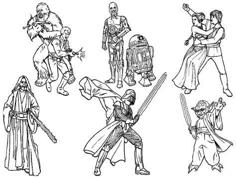 free coloring pages wars characters space travel 14 wars coloring pages print color craft
