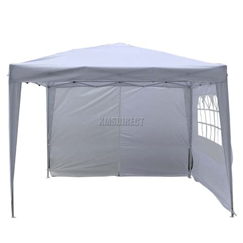 marquee awning foxhunter waterproof 3x3m pop up gazebo marquee garden