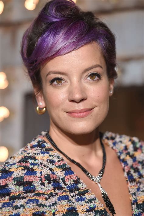Lilly Allen For Chanel 2 by Allen At Chanel Dinner Celebrating No 5 The In