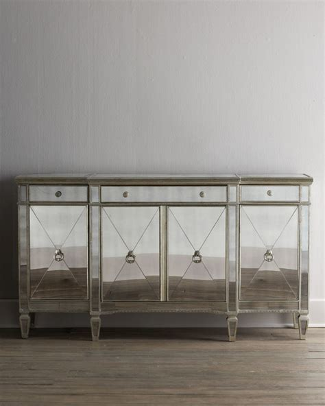 quot amelie quot mirrored buffet console wall mirrors by horchow
