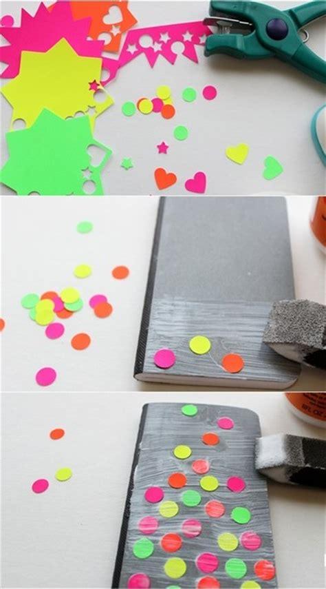como decorar mis hojas de colores libreta con figuras color ne 243 n gu 237 a de manualidades