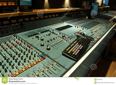 console audio audio mixing console royalty free stock images image
