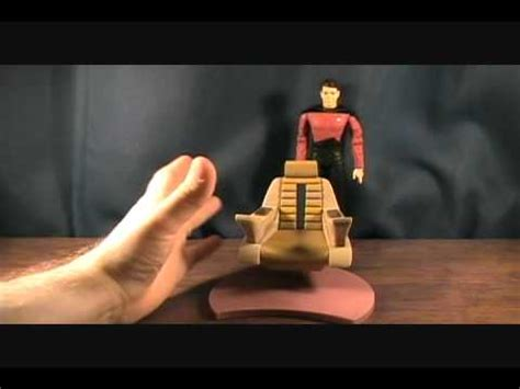 Riker Chair by Trek The Next Generation Commander Riker With Command