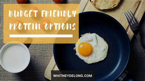 protein options budget friendly protein options delong