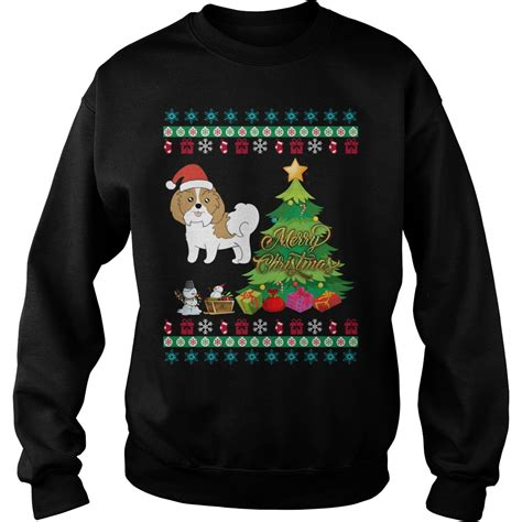 shih tzu sweater shih tzu sweater shirt hoodie and longsleeve