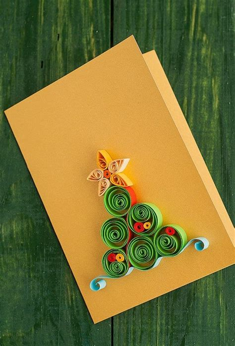 Paper Craft Greeting Cards - 2015 quilling tree paper craft for home decor