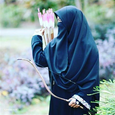 hijab cadar cantik kartun tutorial hijab terbaru