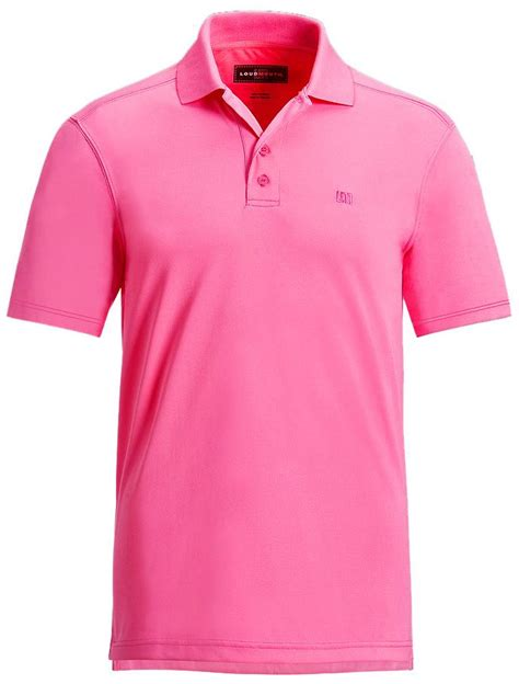 Polo Shirt Impor auc warpgolf rakuten global market loudmouth essential carmine pink shirts polo us import