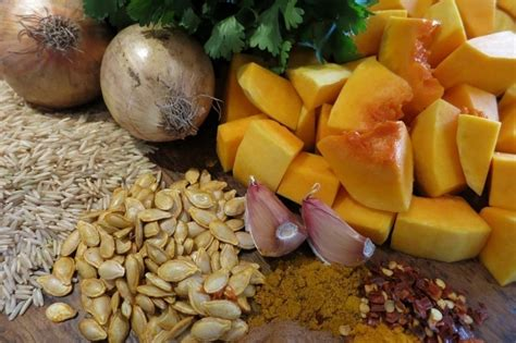 Butternut Squash Soup by Butternut Squash And Brown Rice Soup With Coriande Mealz