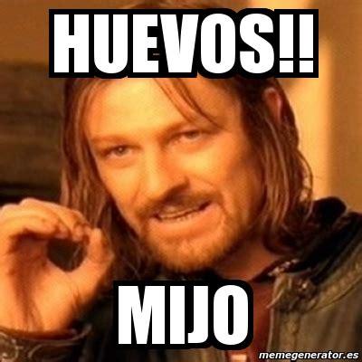 Meme Boromir - meme boromir huevos mijo 5432899