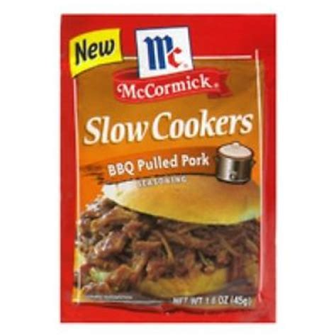 Seasoning Beef Bbq 1kg Limited Mccormick Cookers Bbq Pulled Pork Seasoning Mix 1 6