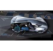 The Porsche Electric Le Mans 2035 Prototype Is A Sci Fi