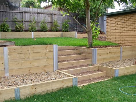 The Landscaped View Geelong Treated Pine Sleepers Vegetable Garden