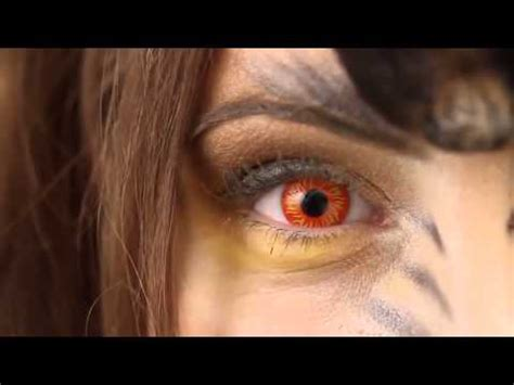 the best wolf eye contact lenses youtube
