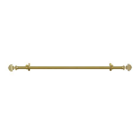 3 inch curtain rods buono ii bach telescoping 3 4 inch drapery rod finial set