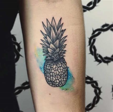 pineapple tattoo meaning 32 perfectly awesome pineapple tattoos tattooblend