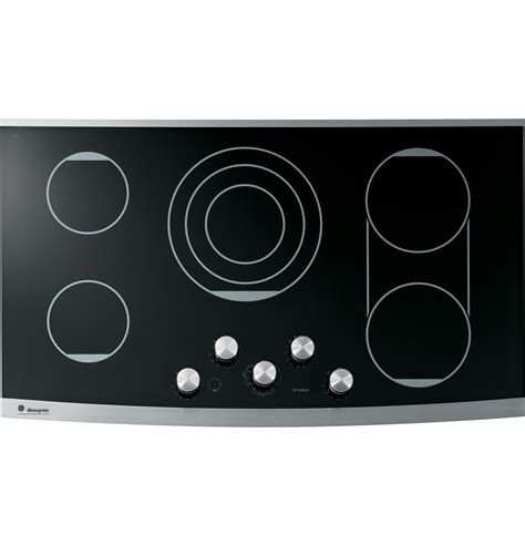 Ge Monogram Cooktops ge monogram 174 36 quot electric cooktop zeu36kskss ge appliances