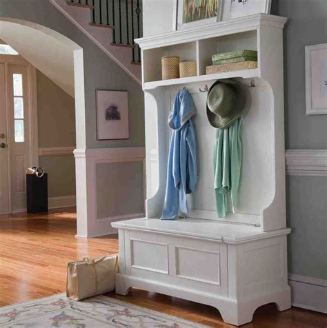how to make a hall tree storage bench white hall tree storage bench home furniture design