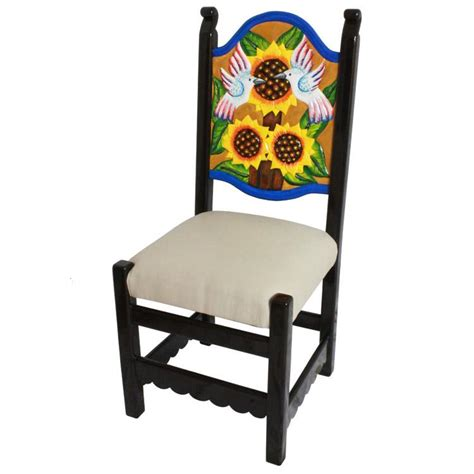 la candona collection carved sunflower chair lcc125