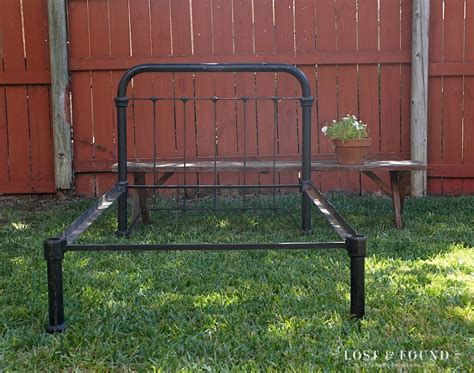 Antique Iron Bed Frame Value The Of An Antique Iron Bed Frame Lost Found