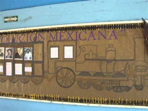 imagenes de la revolucion mexicana para periodico mural peri 211 dico mural revoluci 211 n mexicana 2011 youtube