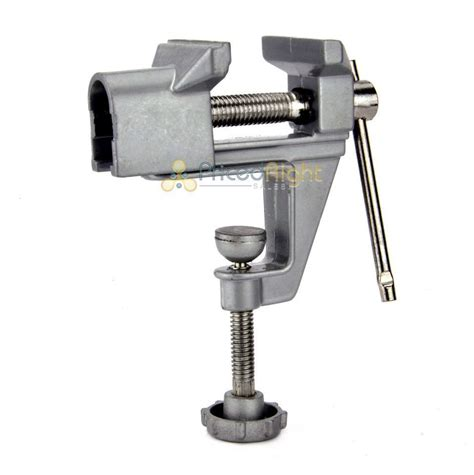 mini bench vise table swivel lock cl vice craft hobby