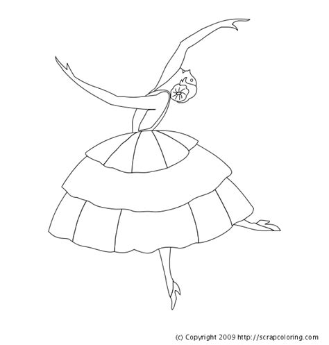 ballerina dress coloring pages 94 coloring pages ballerina printable swan lake