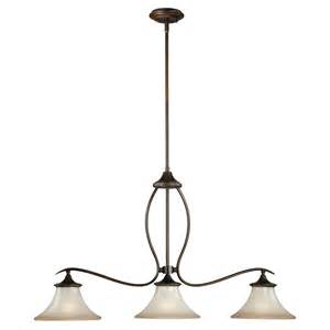 kitchen island with pendant lights grande 3 light kitchen island pendant venetian bronze