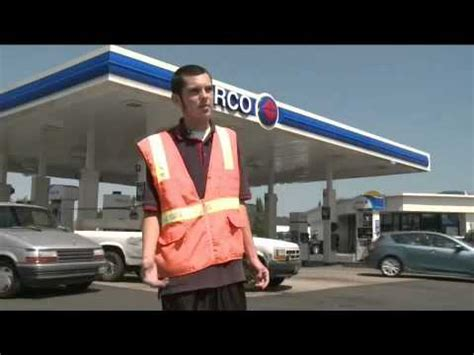 the of a gas station attendant