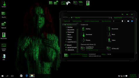matrix skinpack  win skinpack customize