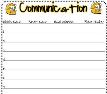 back to school sign in sheet template back to school sign in sheet contact form by