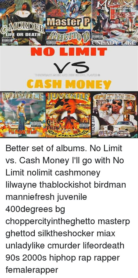 No Limit Vs Limit by Or No Limit Tarowback Musc And New Money