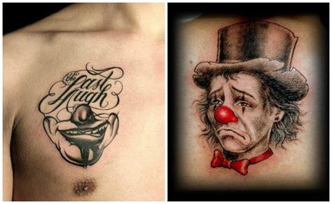dibujos realistas significado tatuajes de payasos para morirte de risa o de miedo