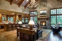 open floor on pinterest large family rooms granite