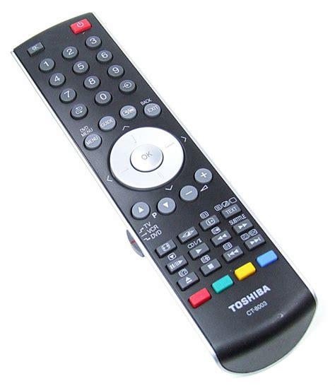 Remote Tv Toshiba Ct 90397 original toshiba remote ct 8003 pilot tv vcr dvd new onlineshop for remote controls