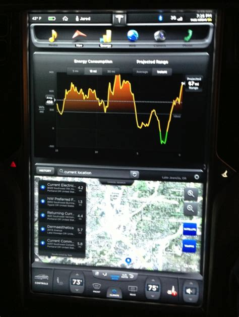 Tesla Iphone Integration The Tesla Motors Model S Is One Machine The
