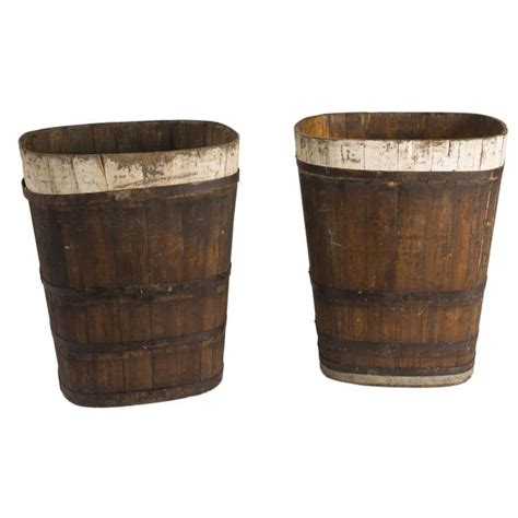 Wine Barrels Planters For Sale by 1stdibs Wine Barrels Farmhouse Living