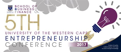 Diversity Mba 2017 Conference by The 5th Uwc Entrepreneurship Conference 2017 Hosted By The
